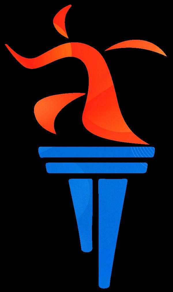Cornhusker State Games torch logo