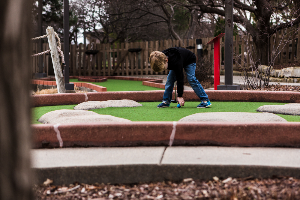 Miniature golf provides exciting new opportunity for CSG participants