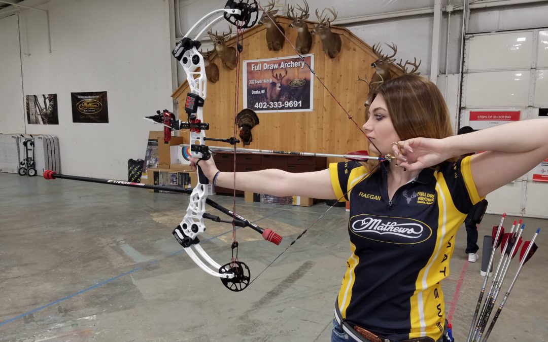 16-year-old archer succeeds at Cornhusker State Games, aims for national glory