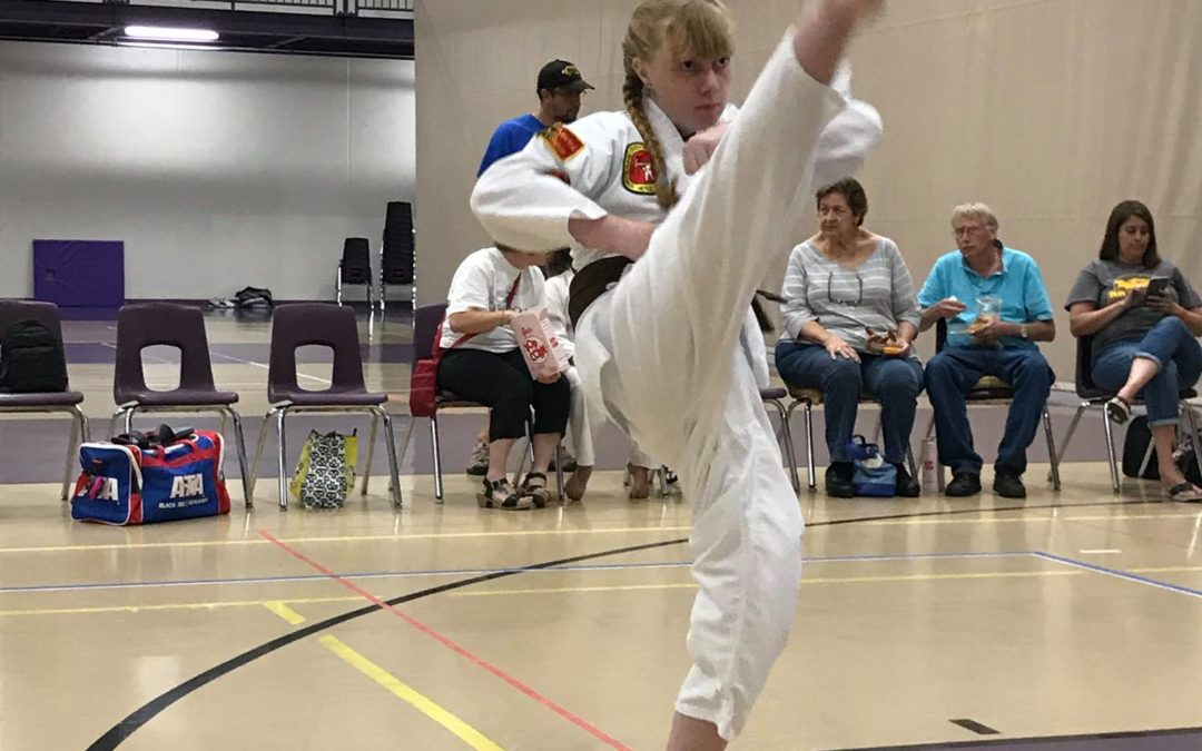 CSG Taekwondo Athlete's Corner: Hannah Spiehs