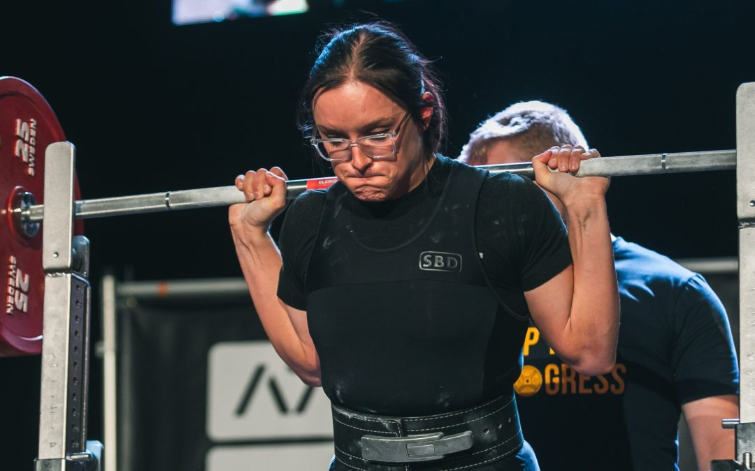 Just three years into powerlifting, Brook McCluskey lifts big