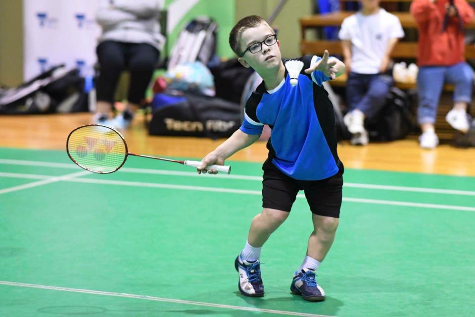 Parabadminton player sets sights on 2020 Paralympics